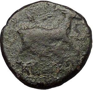 AIGAI-in-AEOLIS-2-1stCenBC-Apollo-Goat-Authentic-Ancient-Greek-Coin-i52576