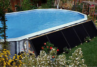Fafco (2) 2'x10' Above Ground Swimming Pool Solar Heating Panels 295-2