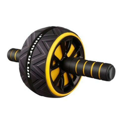 ABS Abdominal Mute Roller Exercise Wheel Core Fitness Muscle Trainer Ab Roller