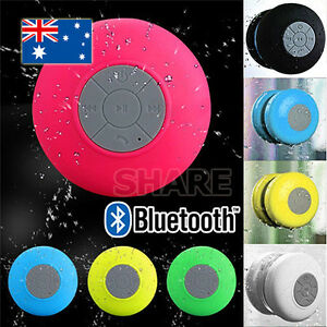 Wireless bluetooth waterproof speaker handsfree mic - Waterproof sound system for bathroom ...