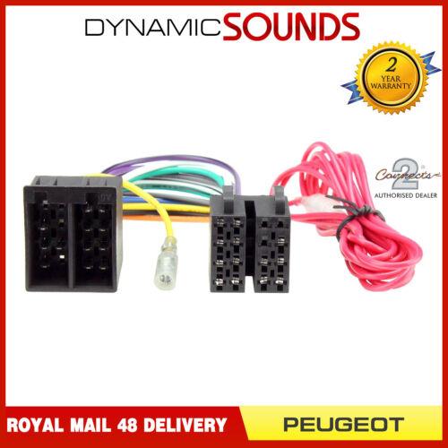 CT20PE09 CD Radio Stereo Wiring Harness Adaptor Lead for Peugeot 206 307 406 607