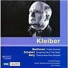 Beethoven: Fidelio Overture; Schubert: Symphony No. 9; Berg: Scenes from Wozzeck (2008)