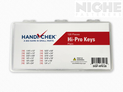 Hi-Pro Key Assortment PL 120pc