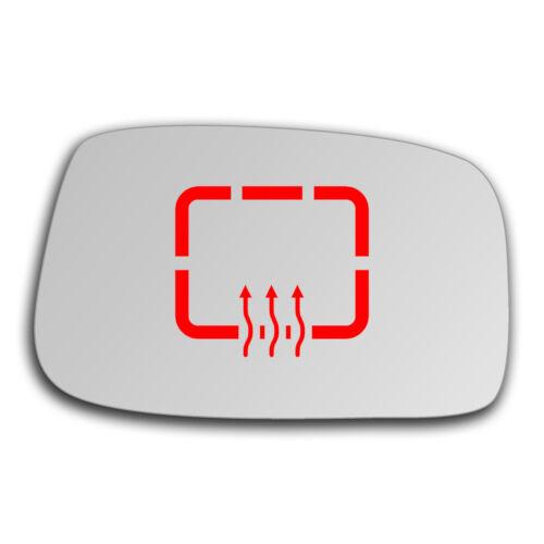 Droit Côté Passager Miroir De Verre chauffable pour FIAT ULYSSE 2002-2011