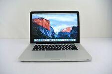"""15"""" Apple MacBook Pro 2008 2.4GHz Core 2 Duo 320GB 8GB RAM MB470LL/A + WARRANTY"""