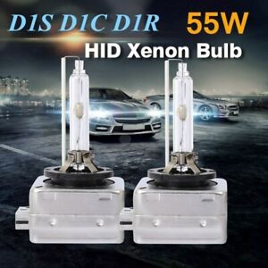 Details about 2X 55W 1S D1R D1C 6K 8K 10K HID Xenon Headlight Bulbs OEM  Factory Replacement