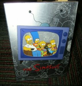 THE-SIMPSONS-THE-COMPLETE-FIRST-SEASON-COLLECTOR-039-S-EDITION-3-DISC-DVD-SET-GUC
