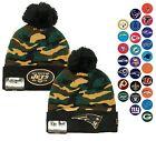 New Era Camo Captivate NFL Beanie Knit