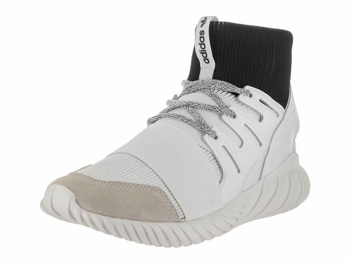 0f865987d887d ADIDAS ORIGINALS TUBULAR DOOM BA7554 WHT CORE BLK MENS SNEAKERS ...