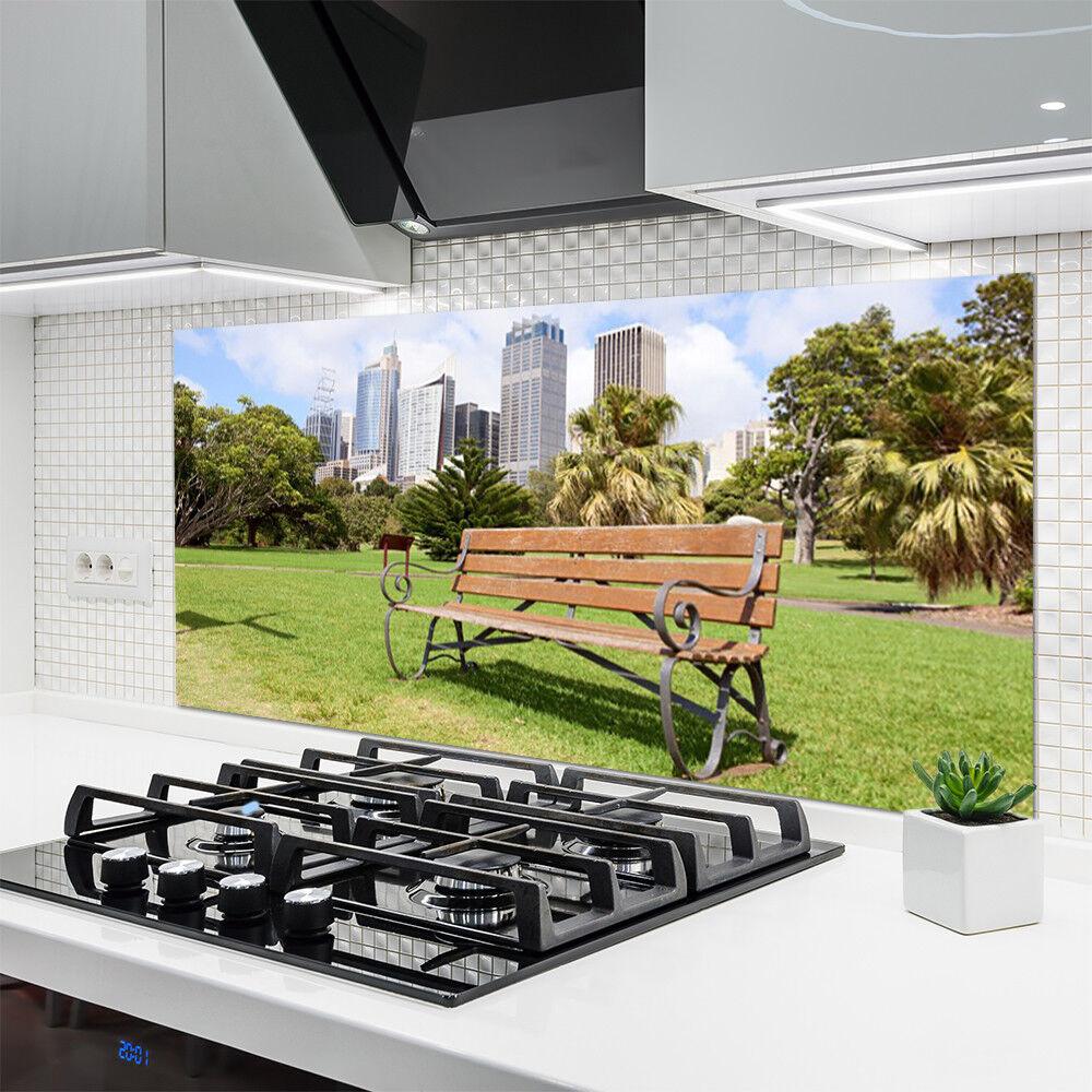 Crédence de cuisine cuisine cuisine en verre Panneau 140x70 Nature ...