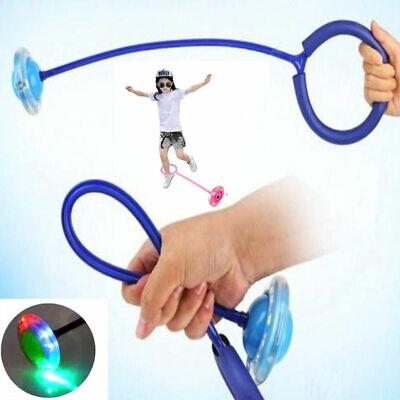 Kids LED Flash Ring Jump Dance Skip Ball Children Ankle Sports Fun Luminous Toy