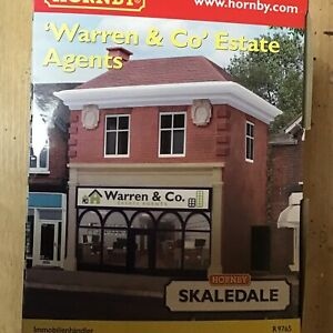 Appris Hornby Skaledale R9765 Warren & Co, Estate Agents - Brand New - Boxed