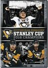 2016 NHL Stanley Cup Champions Pittsburgh Penguins R1 DVD