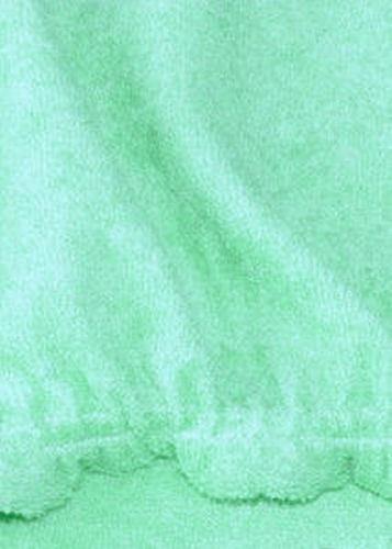 Frotteebezug für Wickelauflage 75x85 Bezug für Wickelauflage Mintgrün