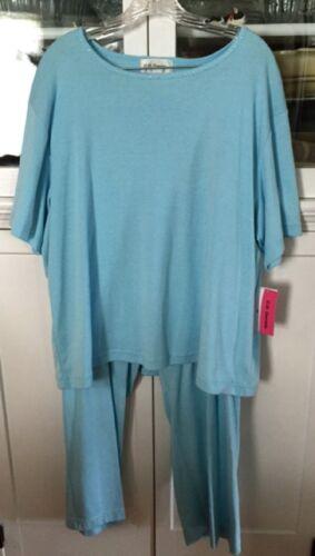 Pantalone Cd più blu 3x corta elastica Daniels maniche in 2 maglia pezzi EPwPI
