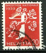SWITZERLAND - SVIZZERA - 1939 - Apertura dell'Esp. naz. di Zurigo (franc.) - 20