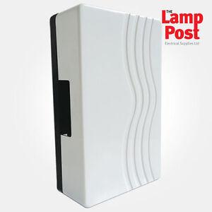 Image is loading Eterna-TCWH-Door-Bell-Door-Chime-With-Built-  sc 1 st  eBay & Eterna TCWH - Door Bell Door Chime With Built In Transformer IP20 ...