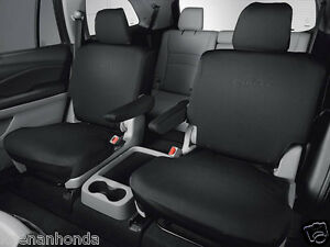 Honda Pilot Seating >> Details About Genuine Oem Honda Pilot 2nd Second Row Seat Cover Elite Models 2016 2019 Covers