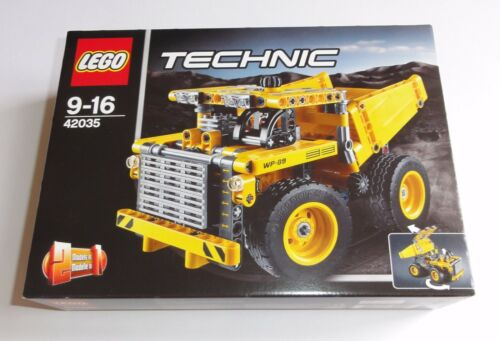 collectionneur état 42035 NOUVEAU /& NEUF dans sa boîte LEGO Technique Technic tombereaux Nº