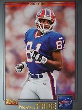 NFL 193 Peerless Price Buffalo Bills Topps 2001