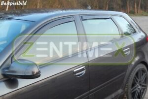 Windabweiser-fuer-Dacia-Logan-MCV-1-Vor-Facelift-2006-2009-Kombi-5tuerer-vorne-amp-hin