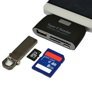 USB-C-3-1-Type-C-to-USB-2-0-OTG-HUB-Adapter-USB-TF-Micro-SD-Memory-Card-ReaderTE