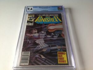 PUNISHER-LIMITED-SERIES-1-CGC-9-6-WHITE-PGS-NEWSSTAND-NEWS-STAND-MARVEL-COMICS