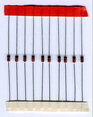 LOT DE 10 DIODES 1N5711 SCHOTTKY RADIOFREQUENCE