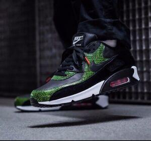Nike Air Max 90 Green Python Black Cyber Fir CD0916 001