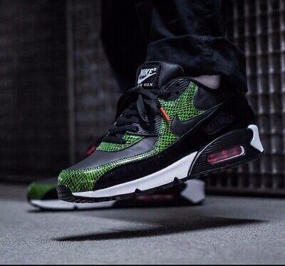 Nike Air Max 90 QS grün Python Schwarz Cyber FIR UK 7 11 EUR 41 46 cd0916 001   eBay