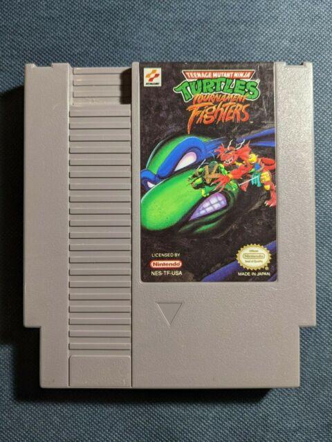 Teenage Mutant Ninja Turtles: Tournament Fighters Nintendo NES RARE TESTED!