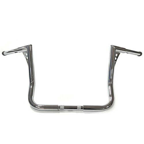 """12/"""" Rise Ape Hangers Bars 1-1//4/"""" Handlebars fit For Harley Touring Electra Glide"""