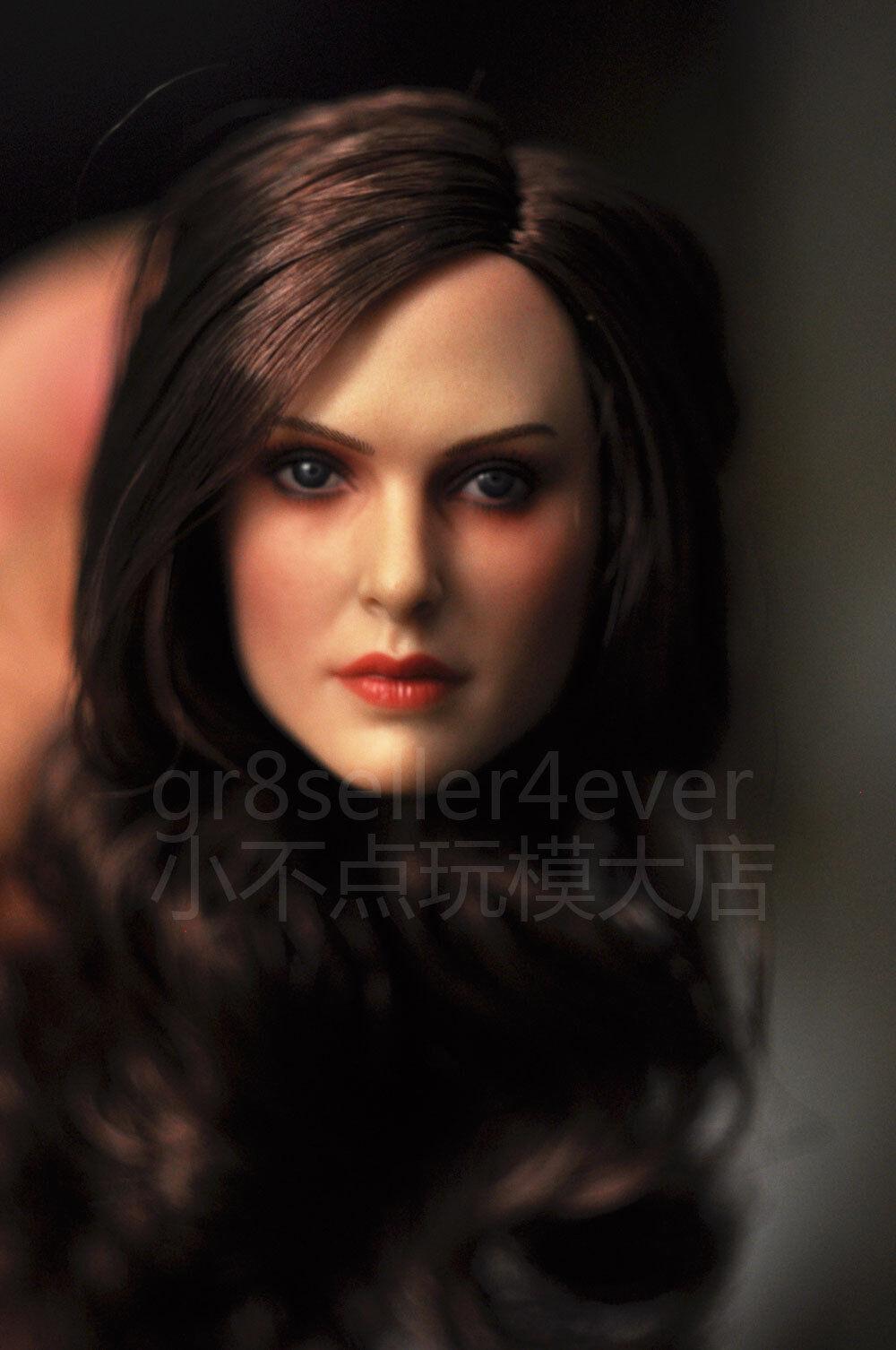 GACTOYS 1 6 scale head sculpt similiar to Natalie Portman GC005C for 12  female