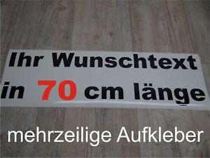 Wunschtext-Aufkleber-Auto-Domain-Beschriftung-Schriftzug-70cm-mehrzeilig