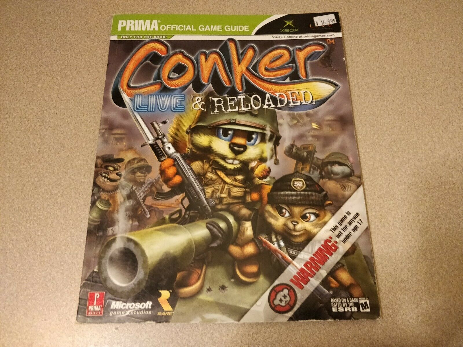 Prima S Official Strategy Guides Conker Live And Reloaded By