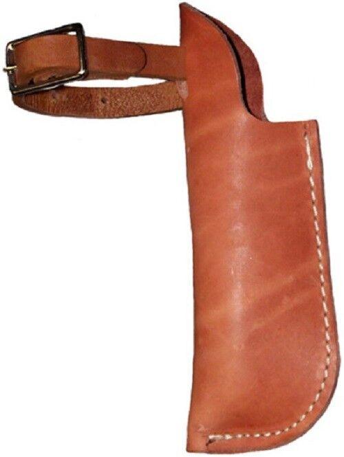 Western Natural  Leather Flag Holder for Western Saddle  factory outlet