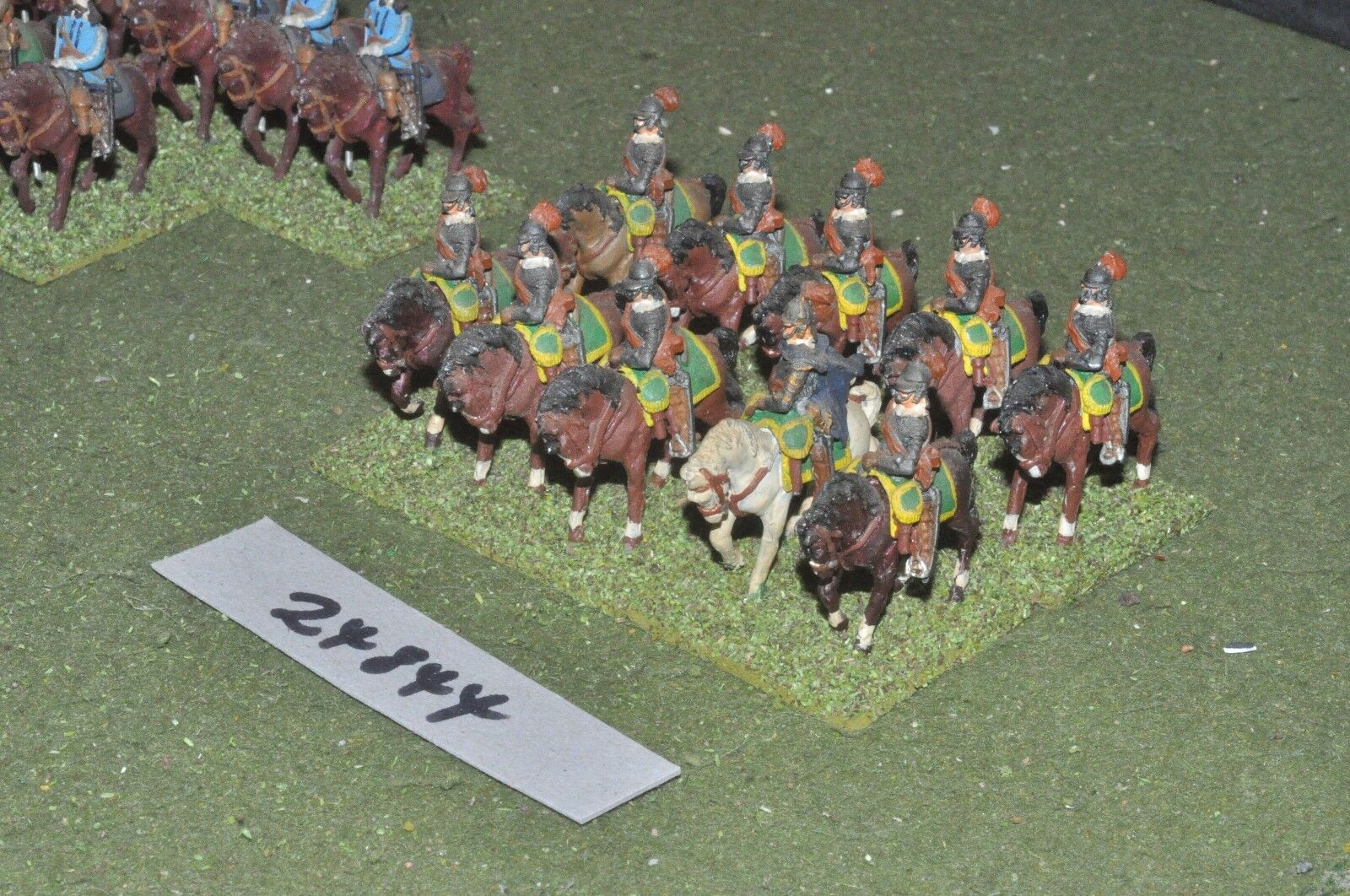 25mm ECW   parliament - heavy 10 figures - cav (24844)