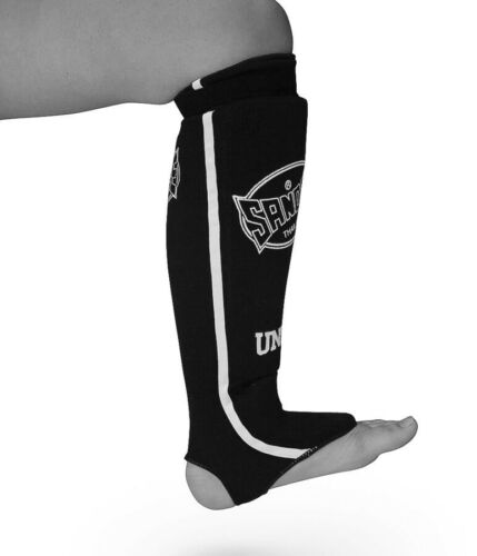 Details about  /Sandee Shin Guards Lightweight Muay Thai Sparring MMA Kickboxing Shinguards