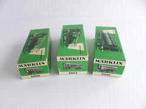 MARKLIN-3-BOITES-VIDES-4002-4003-4005