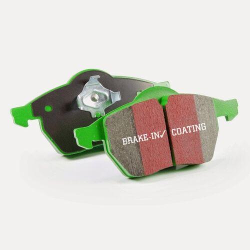 EBC Greenstuff Sportbremsbeläge Vorderachse DP21139 für Smart Forfour