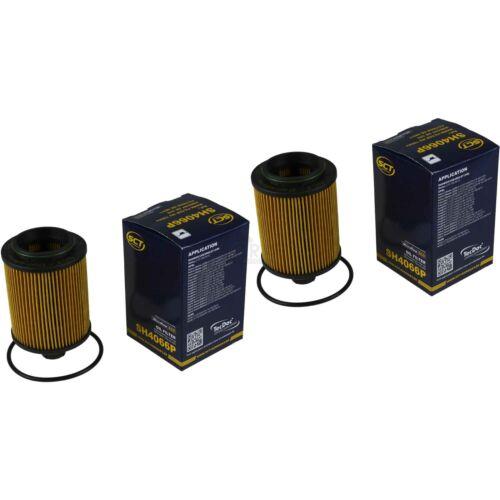 2xOriginal SCT Ölfilter SH 4066 P Oil Filter