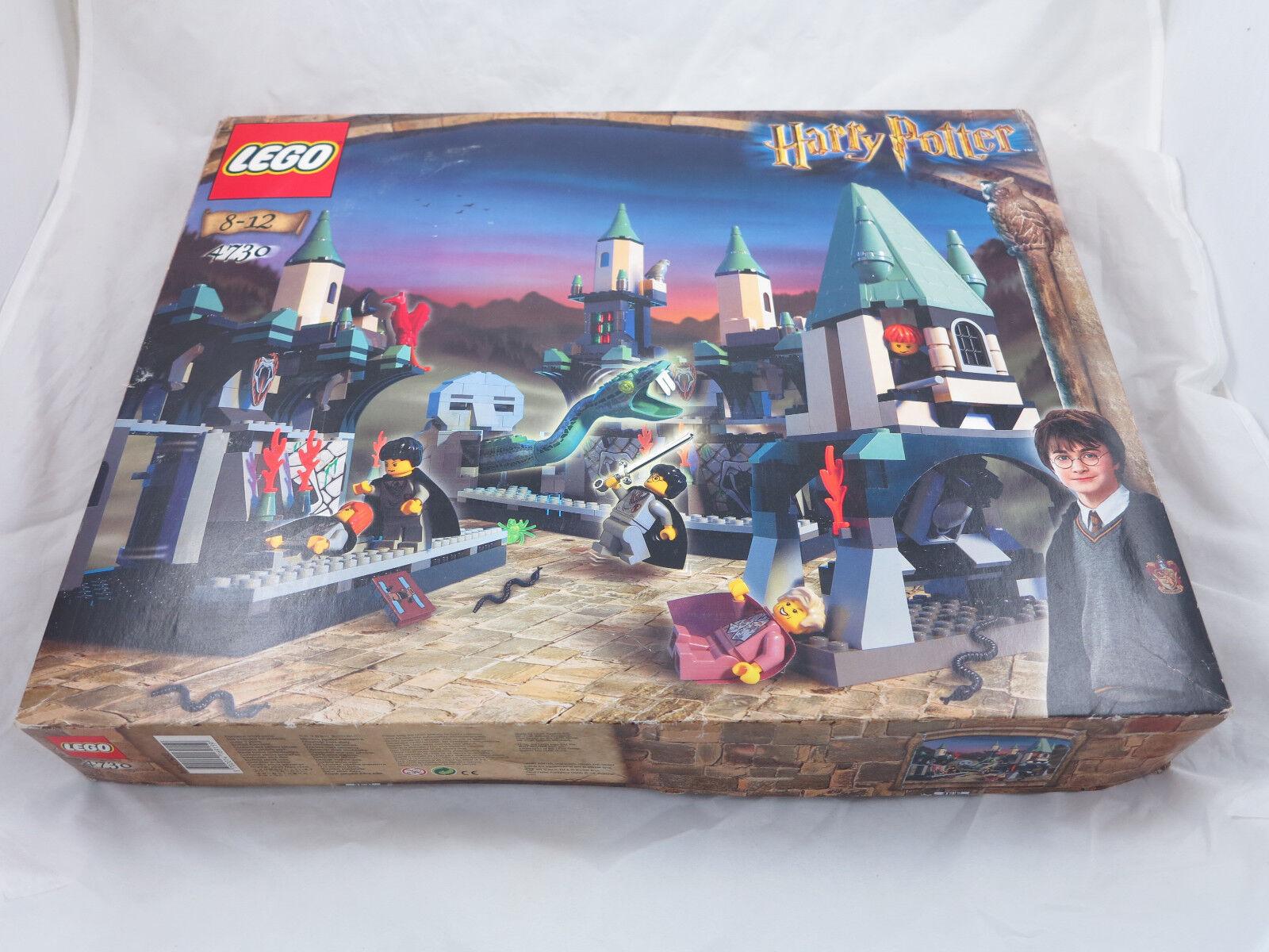 LEGO Harry Potter 4730/4712/4726 camera del terrore + OVP + OBA la raccolta   106