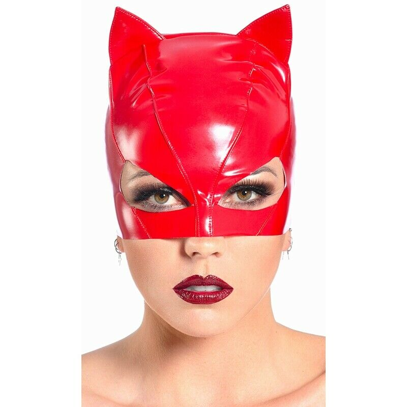 Patrice Catanzaro, Sweety, Mask Small Cat For Catsuit Vinyl Red