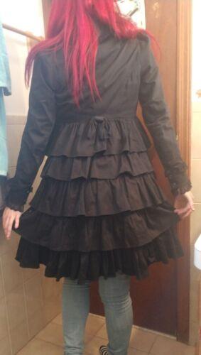 Coat Sjælden Lolita S Steampunk Candy Punk Small Goth Sød Jakke Lip Service 8q5Fwg0