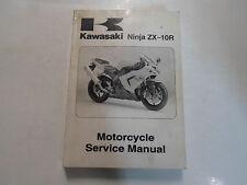 2004 Kawasaki Ninja ZX-10R Motorcycle Service Repair Shop Manual Factory NEW