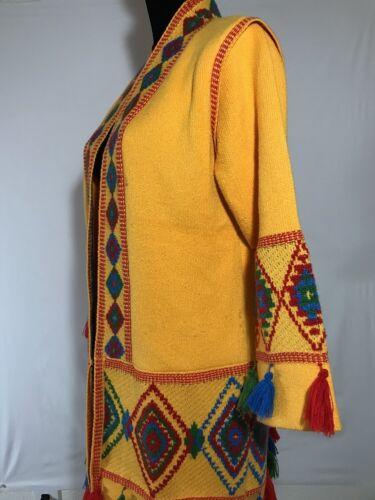 W One Size Coats Kimono Blazer Cover Top Jakke Style Pompom xgXxqTfSn