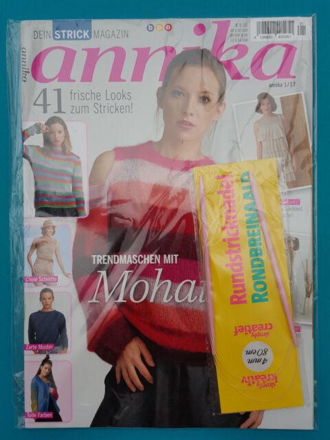 Annika Strick Magazin 1/2017 41 Frische Looks zum Stricken! ungelesen 1A abs.TOP