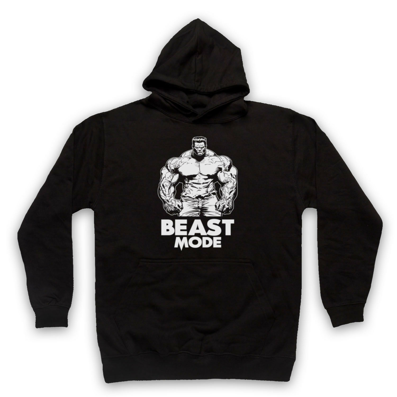 Femme et Enfants Tailles Beast Mode on off MUSCLE DRÔLE GYM Slogan T-Shirt-Homme