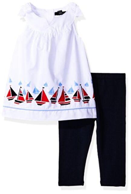 Nautica Girls Big Long Sleeve Holiday Fashion Tops