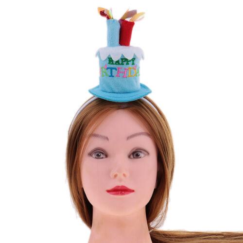Happy Birthday Hut auf Haarreif Haarband Geburtstagsfeier Party Kopfschmuck